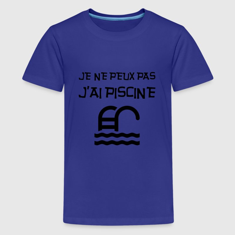 Tee shirt j 39 ai piscine humour dr le fun marrant for T shirt piscine