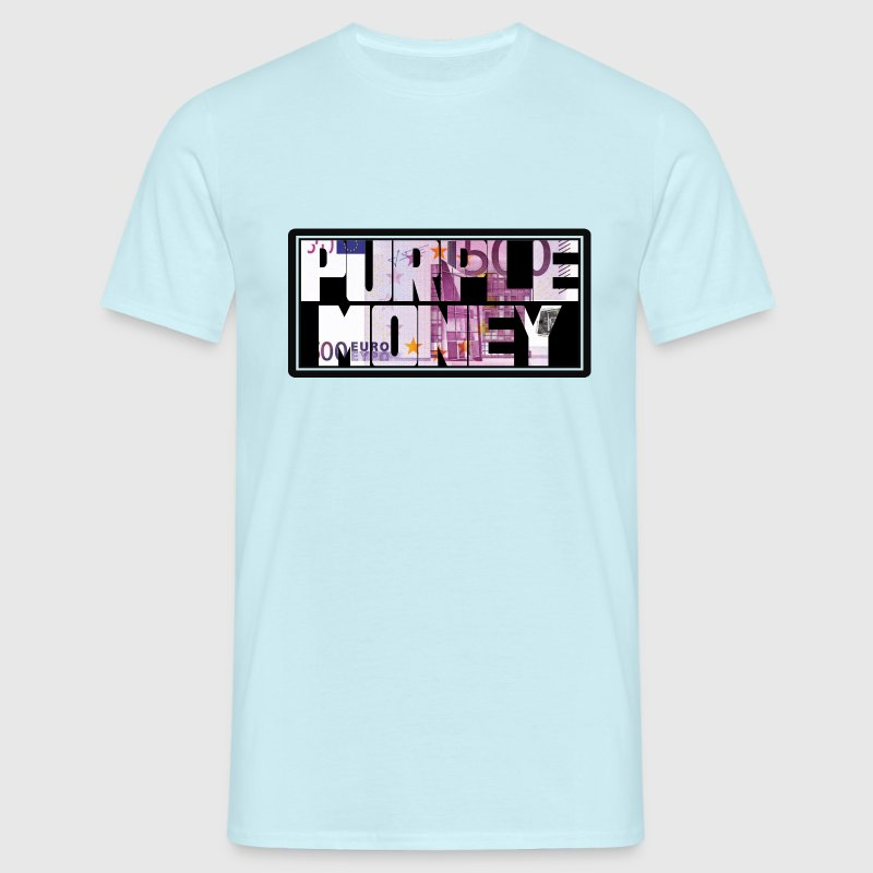 purple money 2 Tee shirts - T-shirt Homme