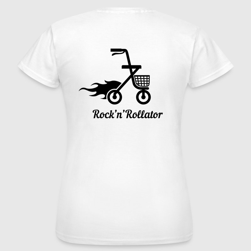 Rock'n'Rollator - Frauen T-Shirt