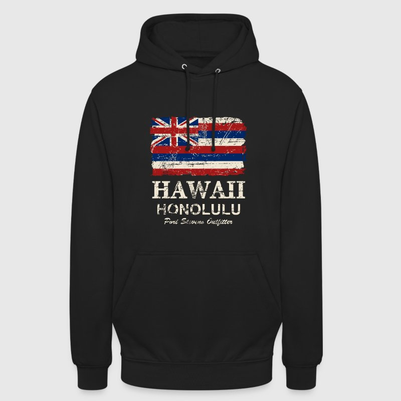 Hawaii Flag - Honolulu - Vintage Look Pullover & Hoodies - Unisex Hoodie