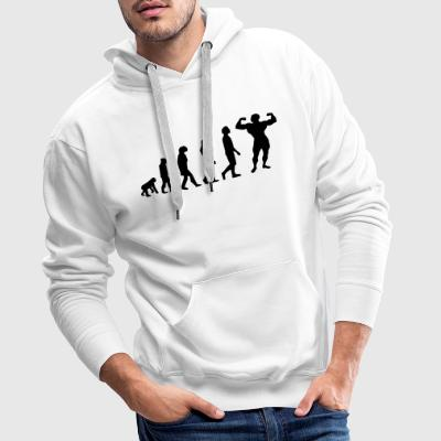 Evolution Body Building - Männer Premium Hoodie