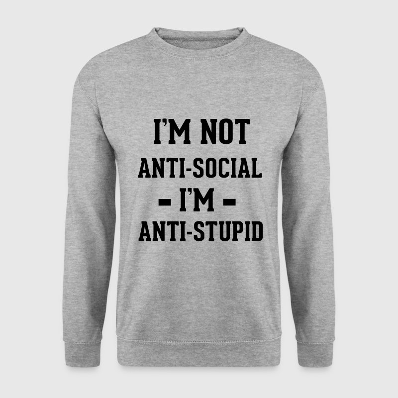 Anti-social Sweat-shirts - Sweat-shirt Homme