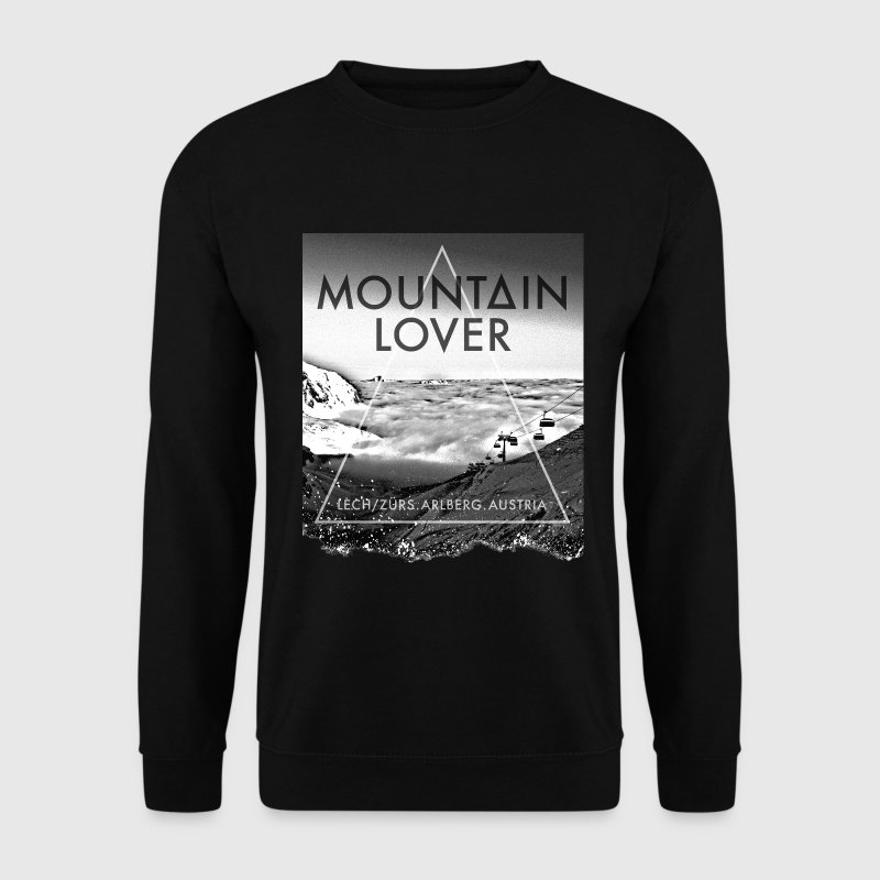 Mountain Lover Sweatshirt - Männer Pullover