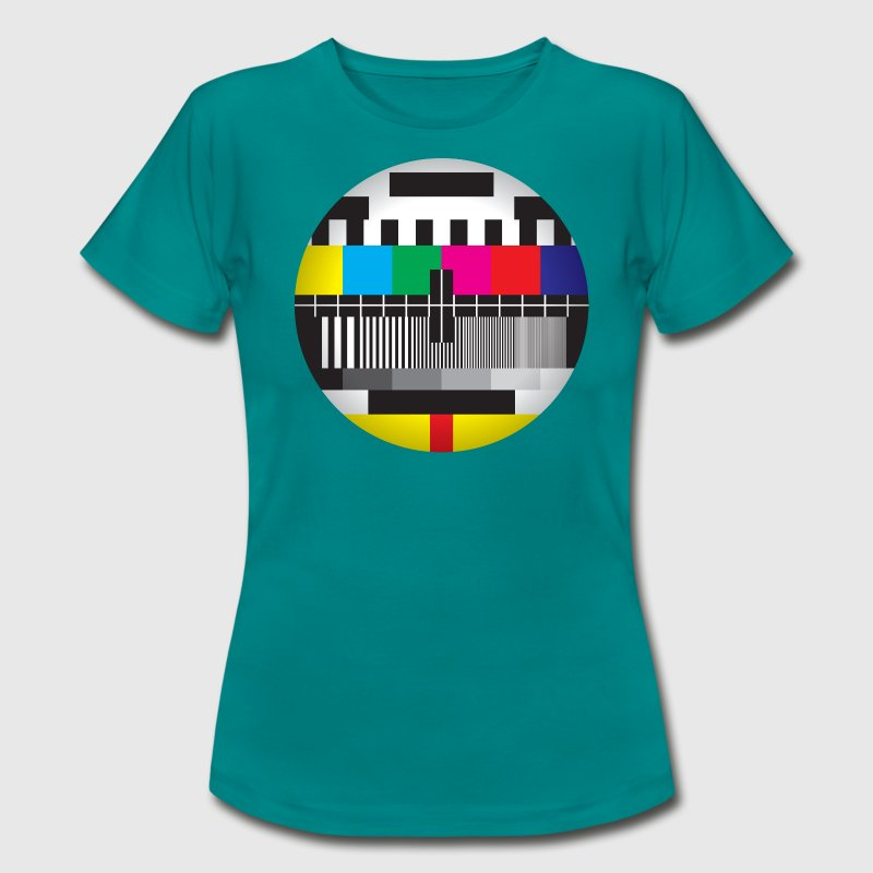 Test Card (LADIES) - Women's T-Shirt