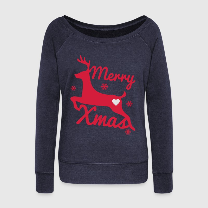 Christmas Sweat-shirts - Pull Femme col bateau de Bella