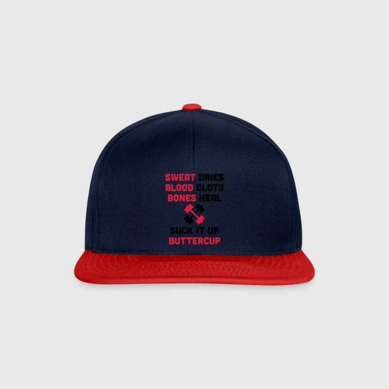 Sweat Dries, Suck It Up Caps & Hats - Snapback Cap