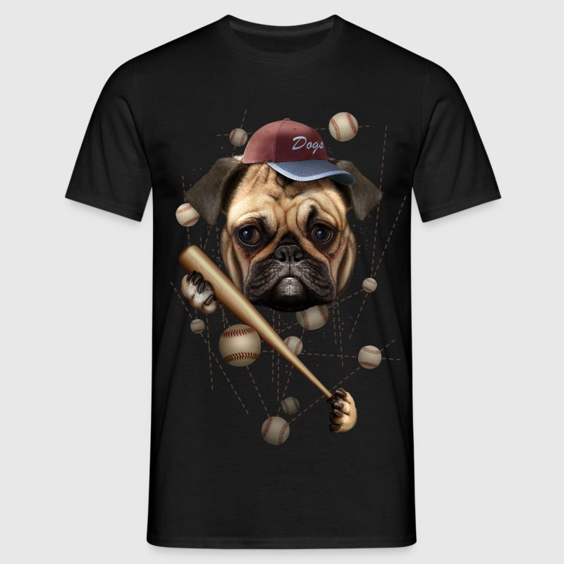 BASEBALL DOG - Men's T-Shirt