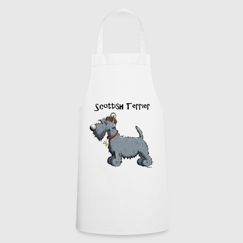 Mignon Scottish Terrier Tabliers - Tablier de cuisine