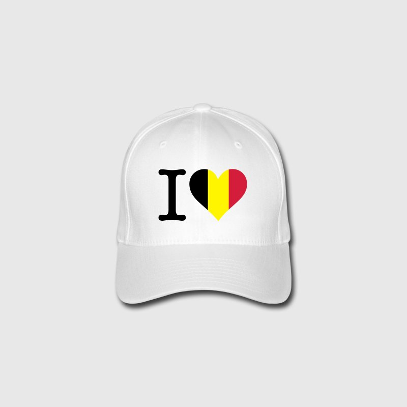 I Love Belgium Caps & Hats - Flexfit Baseball Cap