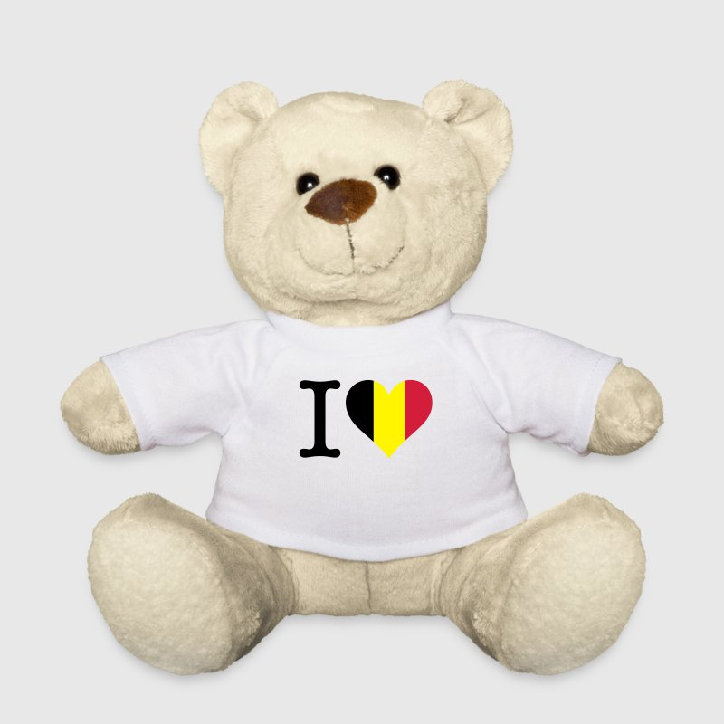I Love Belgium Teddy Bear Toys - Teddy Bear