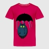 Cat with umbrella Shirts - Kids' Premium T-Shirt