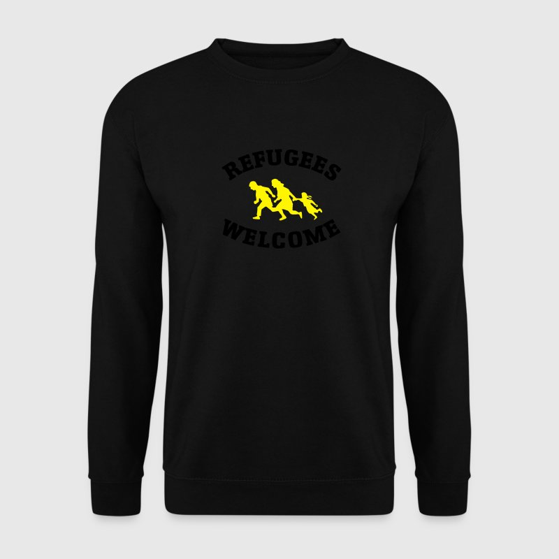 Refugees Welcome Sweat-shirts - Sweat-shirt Homme