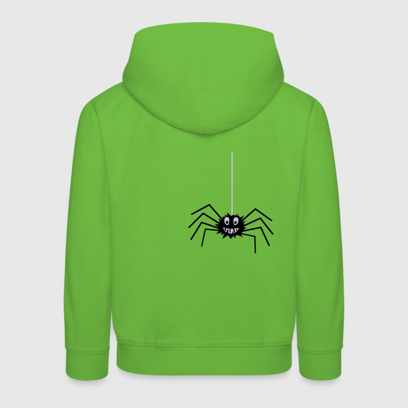 Spider on a string - Kids' Premium Hoodie