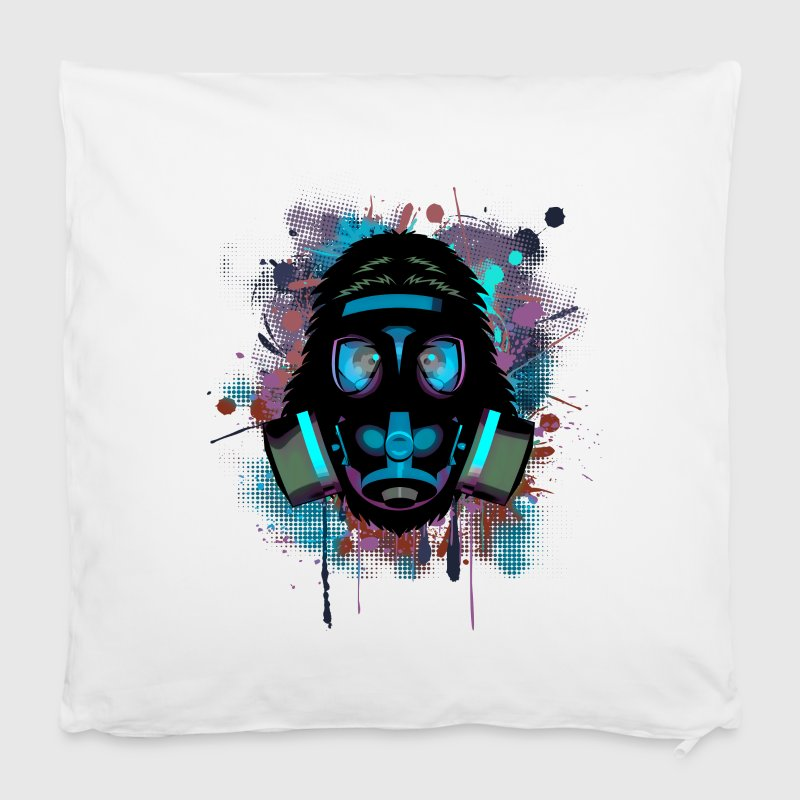 Urban Monkey with Gas mask Fallout Other - Pillowcase 40 x 40 cm