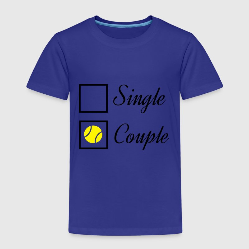 Tennis couple Shirts - Kids' Premium T-Shirt