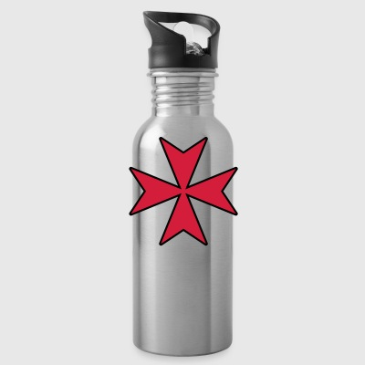 Maltese Cross Caps & Hats - Water Bottle
