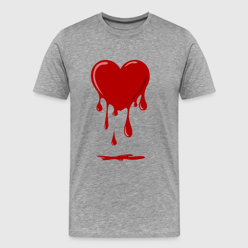 bleeding heart T-Shirts - Men's Premium T-Shirt