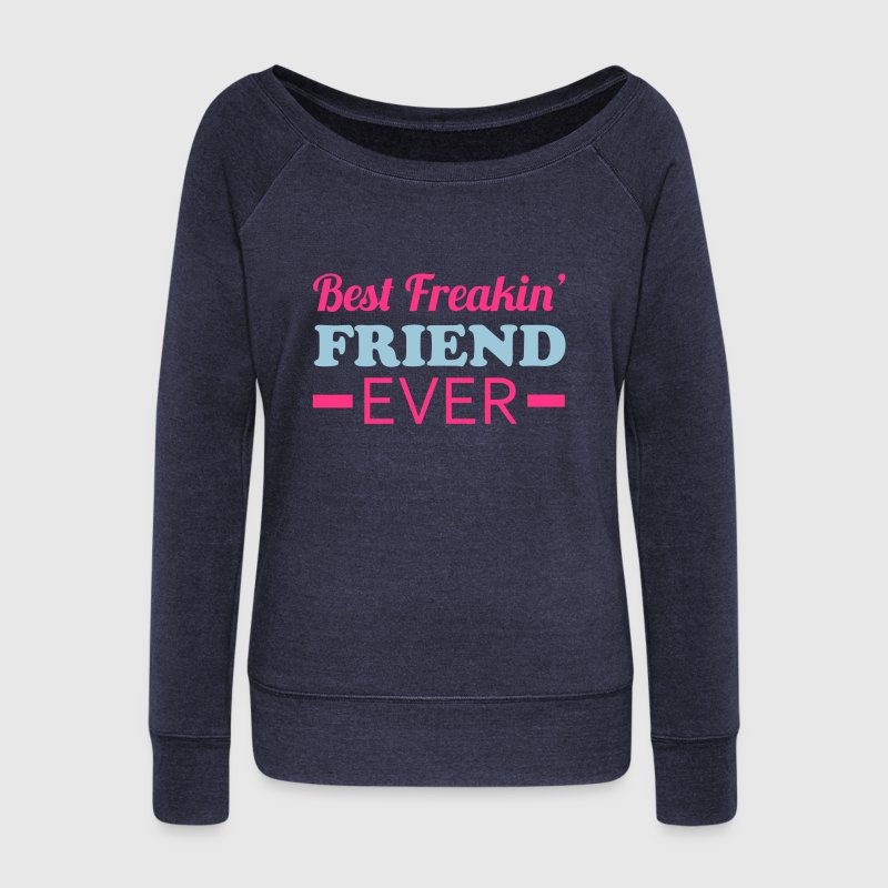 Best Friend Sweat-shirts - Pull Femme col bateau de Bella