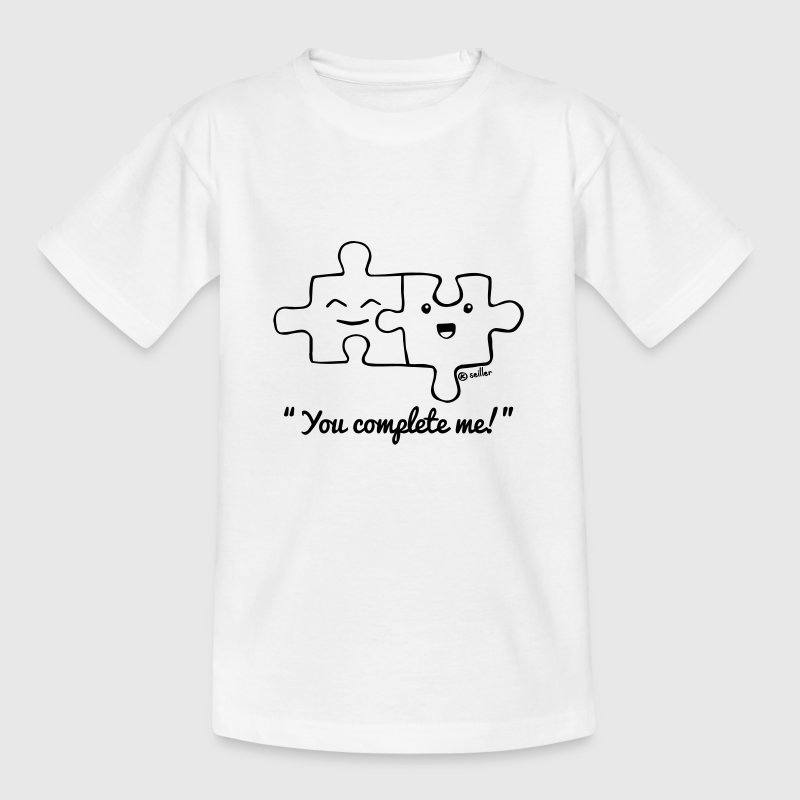 You Complete Me T-Shirts - Kinder T-Shirt