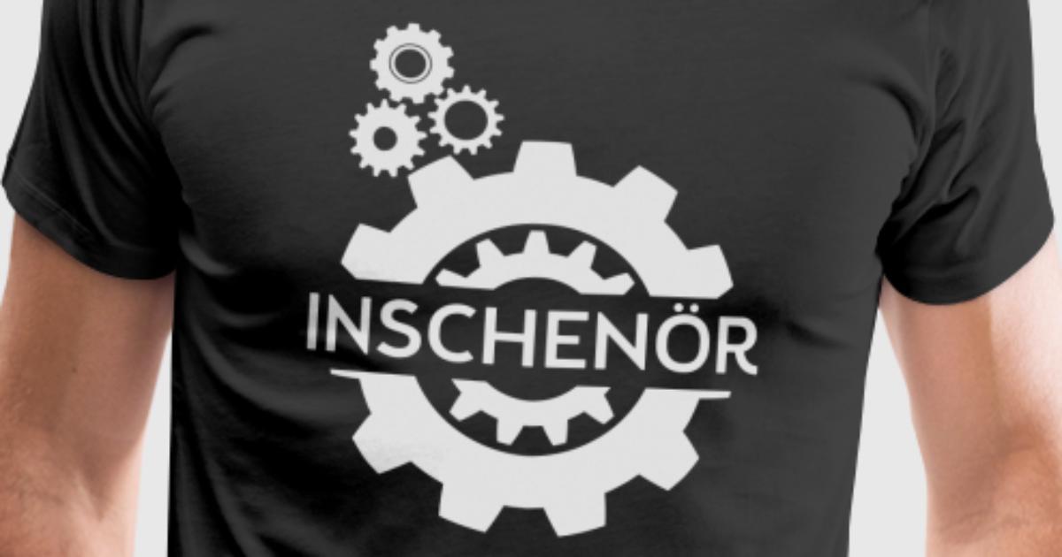 Inschen r ingeneur t shirt spreadshirt for Two color shirt design