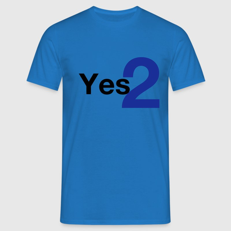 Yes 2 - Scottish Independence - Men's T-Shirt