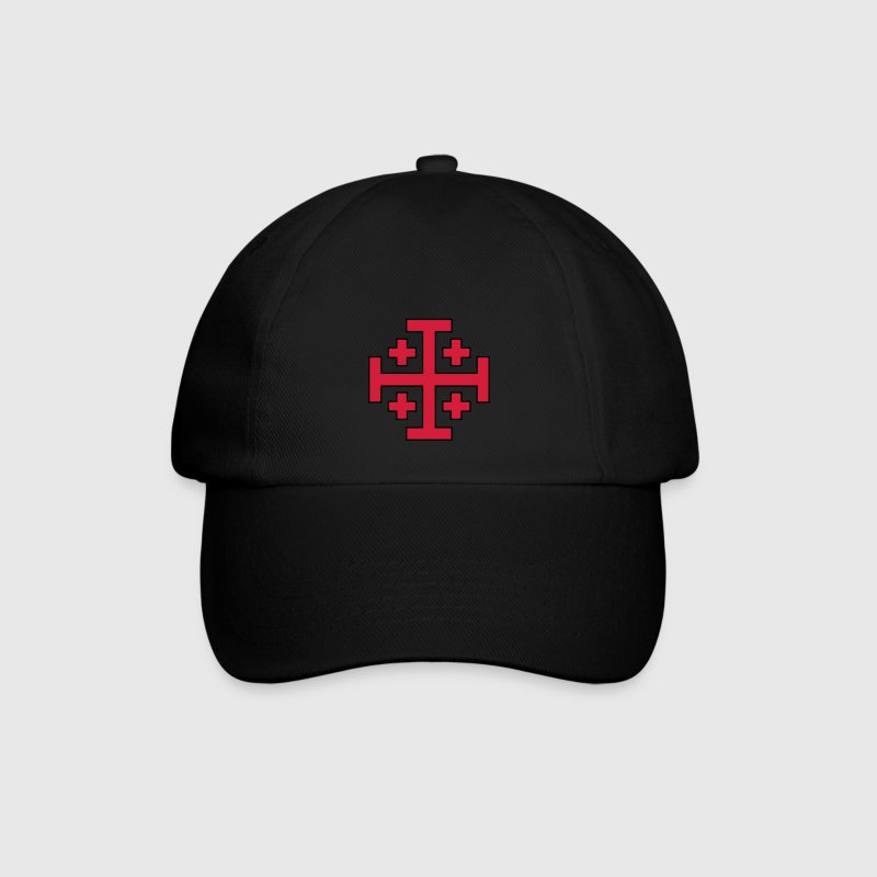 Jerusalem Cross Caps & Hats - Baseball Cap