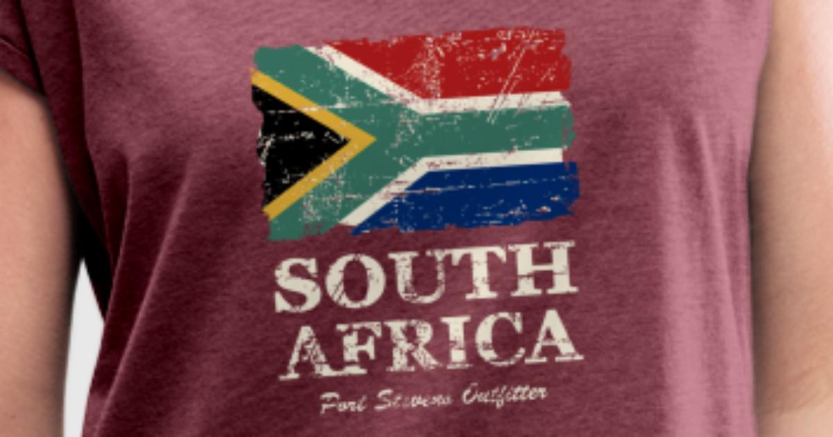 Tassen South Africa : South africa flag vintage look t shirt spreadshirt