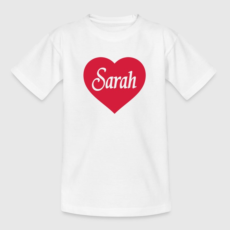 Herz Sarah T-Shirts - Teenager T-Shirt