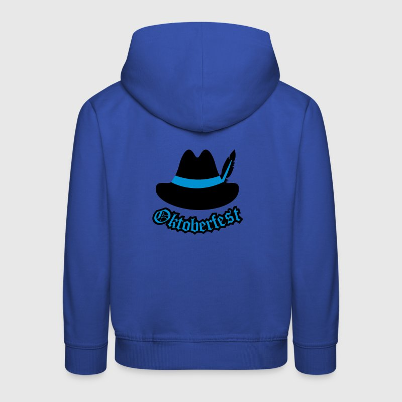 Oktoberfest (Hipster Hut) Outfit / Tracht / Wiesn Pullover & Hoodies - Kinder Premium Hoodie