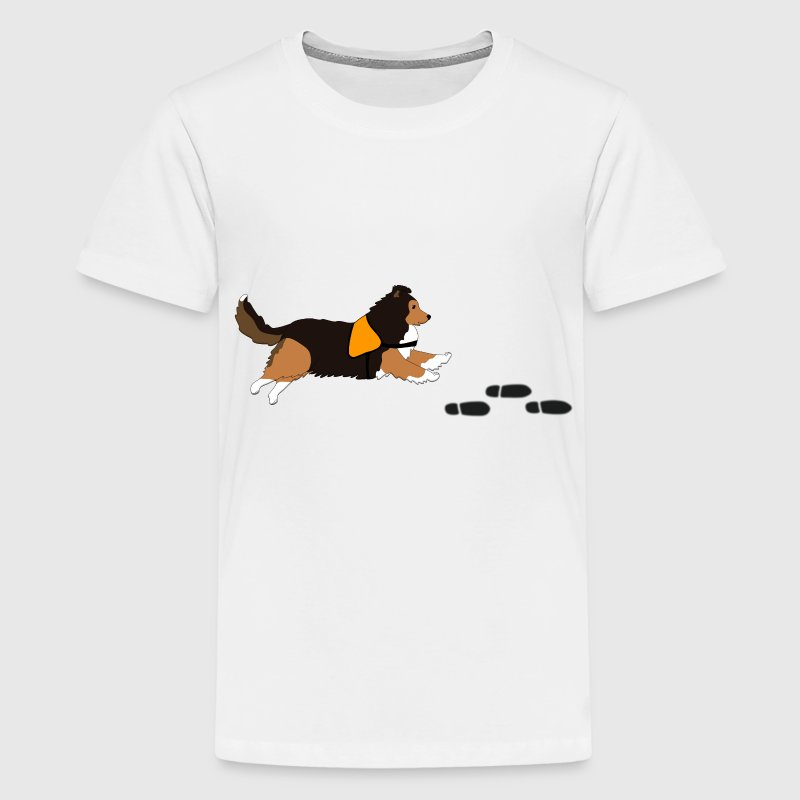 Free search Sheltie Shirts - Teenage Premium T-Shirt