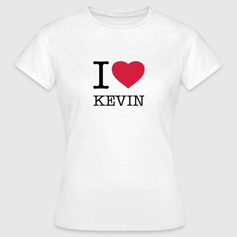 I LOVE KEVIN - Frauen T-Shirt