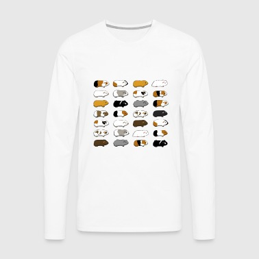 28 Guinea Pigs Tee shirts - T-shirt manches longues Premium Homme