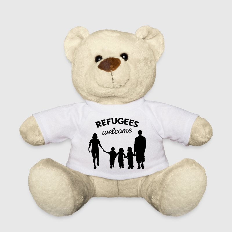 Refugees welcome Teddy bear - Teddy