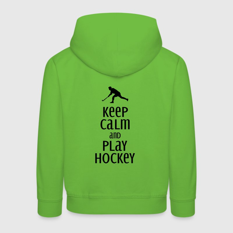 keep calm and play hockey Pullover & Hoodies - Kinder Premium Hoodie