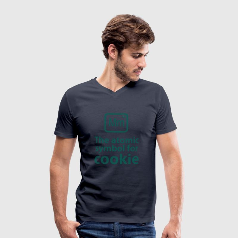 Mm the ELEMENT for cookies T-Shirts - Men's Organic V-Neck T-Shirt by Stanley & Stella