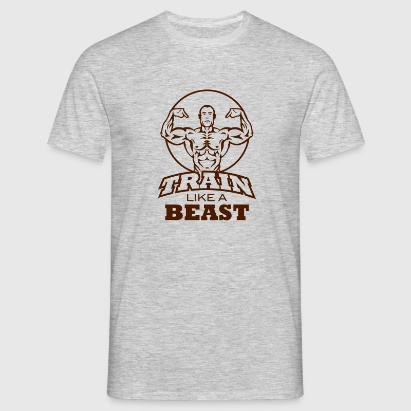 Train like a beast T-Shirts - Männer T-Shirt