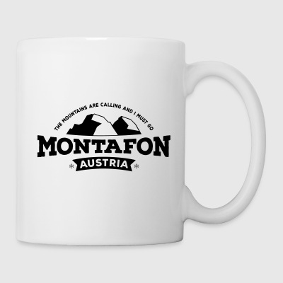Montafon Mountains Kissen - Tasse