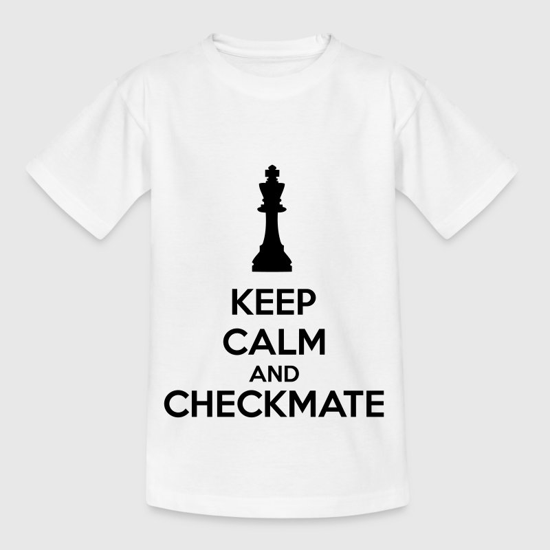 Keep Calm And Checkmate   Shirts - Kids' T-Shirt
