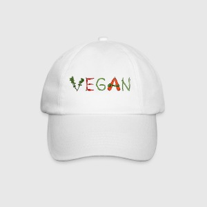 Vegan Veggies Caps & Hats - Baseball Cap