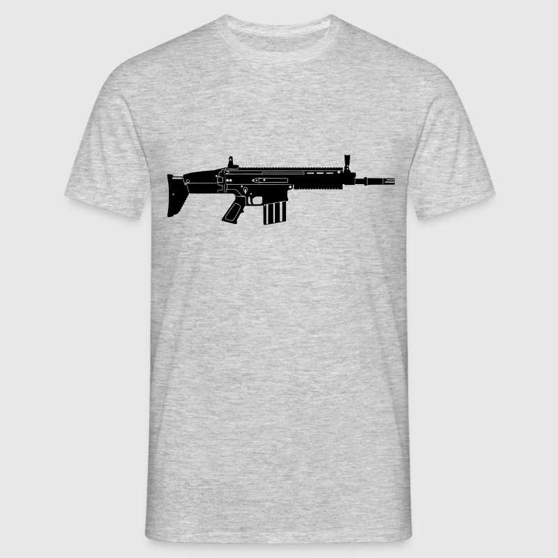 Scar Weapon Military Rifle Tee shirts - T-shirt Homme