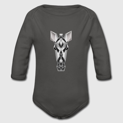 Vectorimals Zebra Baby Bodys - Baby Bio-Langarm-Body
