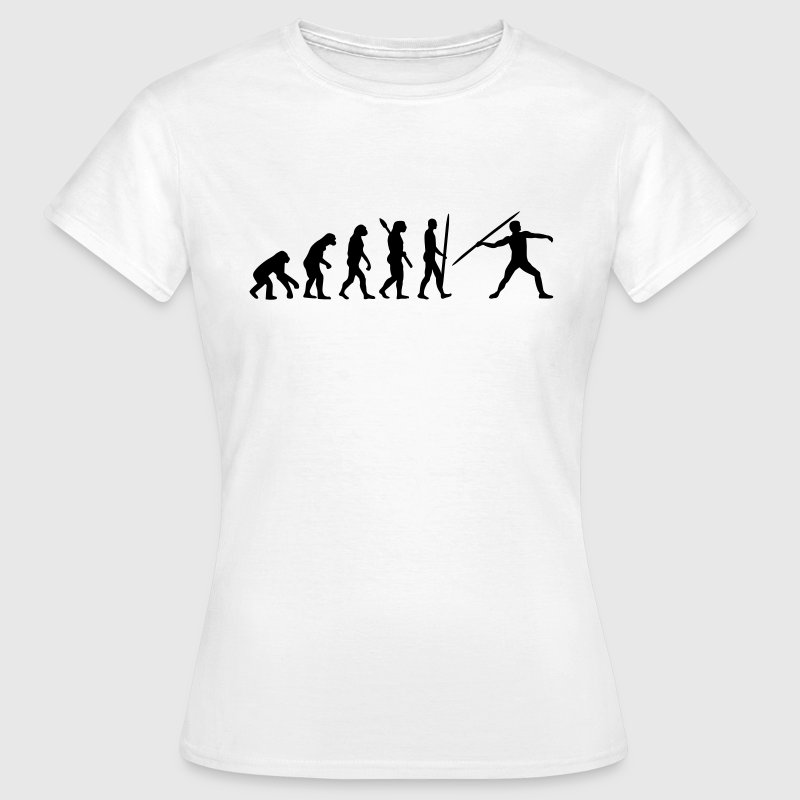Evolution Speerwurf T-Shirts - Frauen T-Shirt