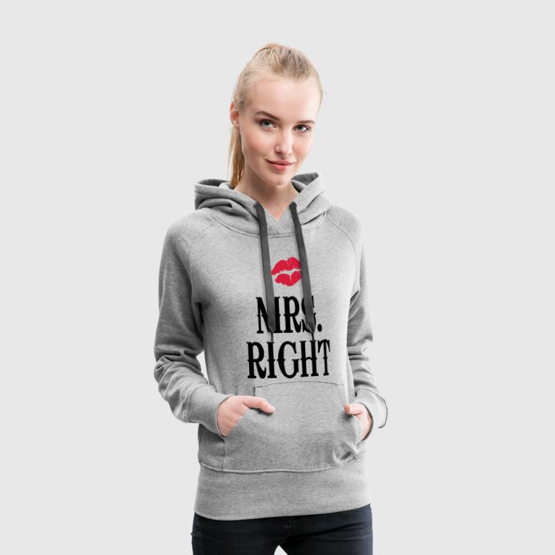 Mrs. Right Pullover & Hoodies - Frauen Premium Hoodie