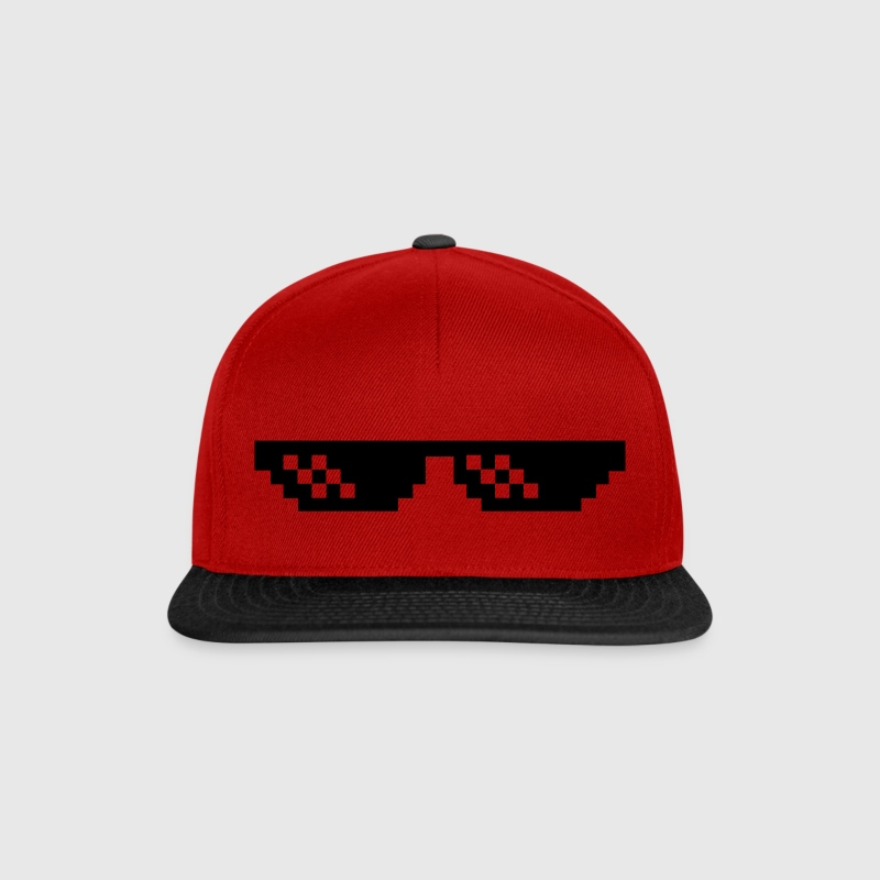 Pixelbrille Thug Life Deal with it Sonnebrille Caps & Mützen - Snapback Cap