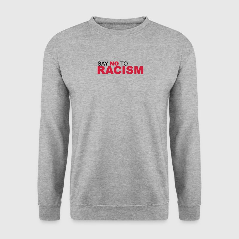 No Racism - Kein Rassismus  Pullover & Hoodies - Männer Pullover