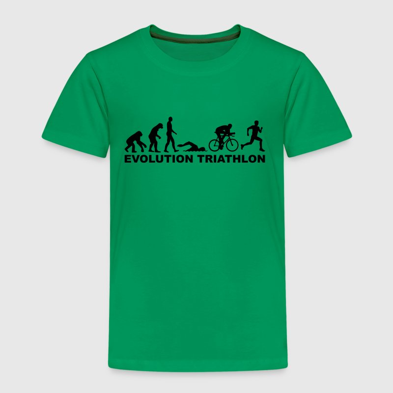 Evolution Triathlon T-Shirts - Kinder Premium T-Shirt