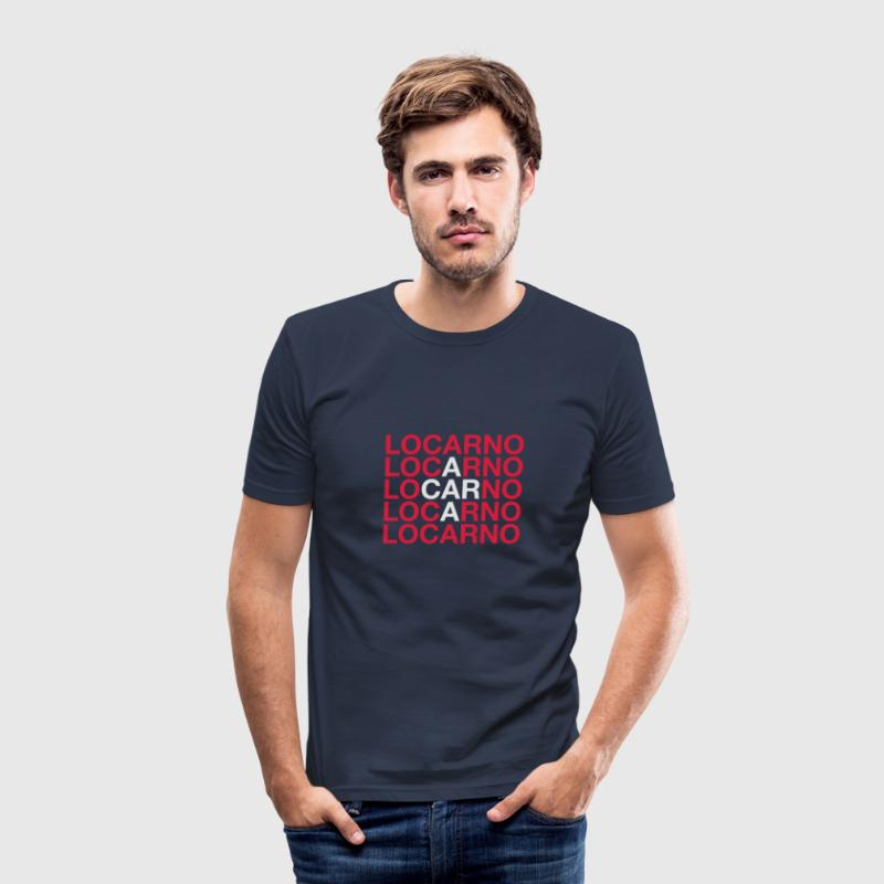 LOCARNO - Männer Slim Fit T-Shirt