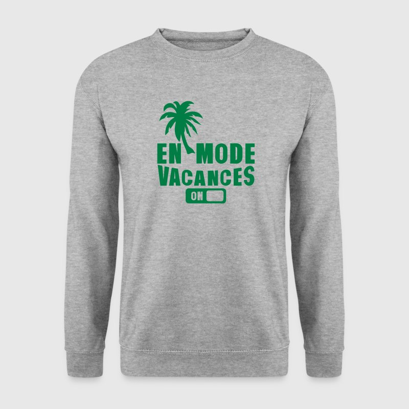 en mode vacance palmier on Sweat-shirts - Sweat-shirt Homme