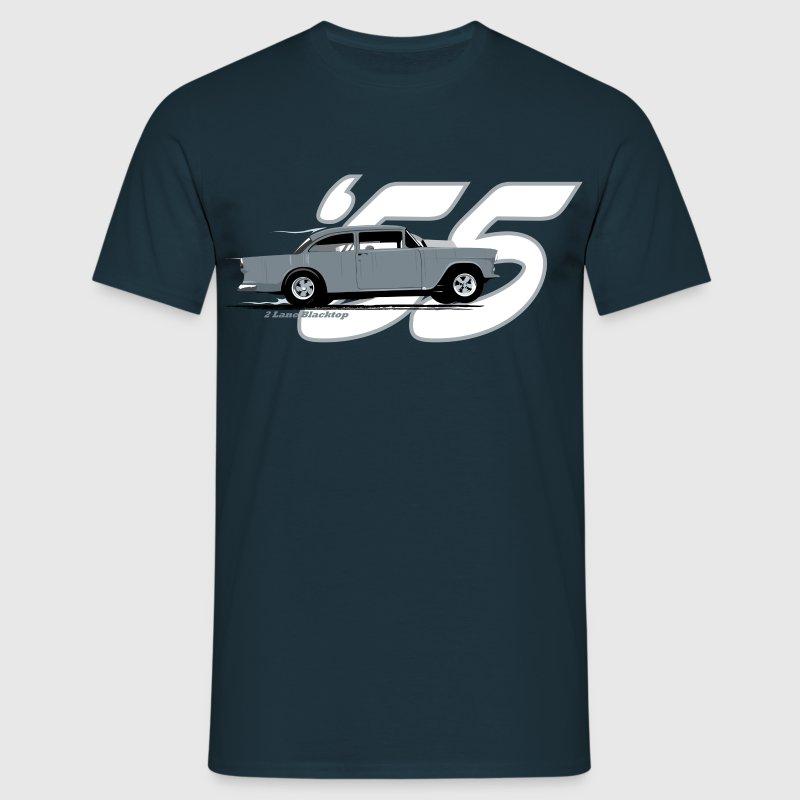 2 Lane Black Top 39 55 Chevy T Shirt Spreadshirt