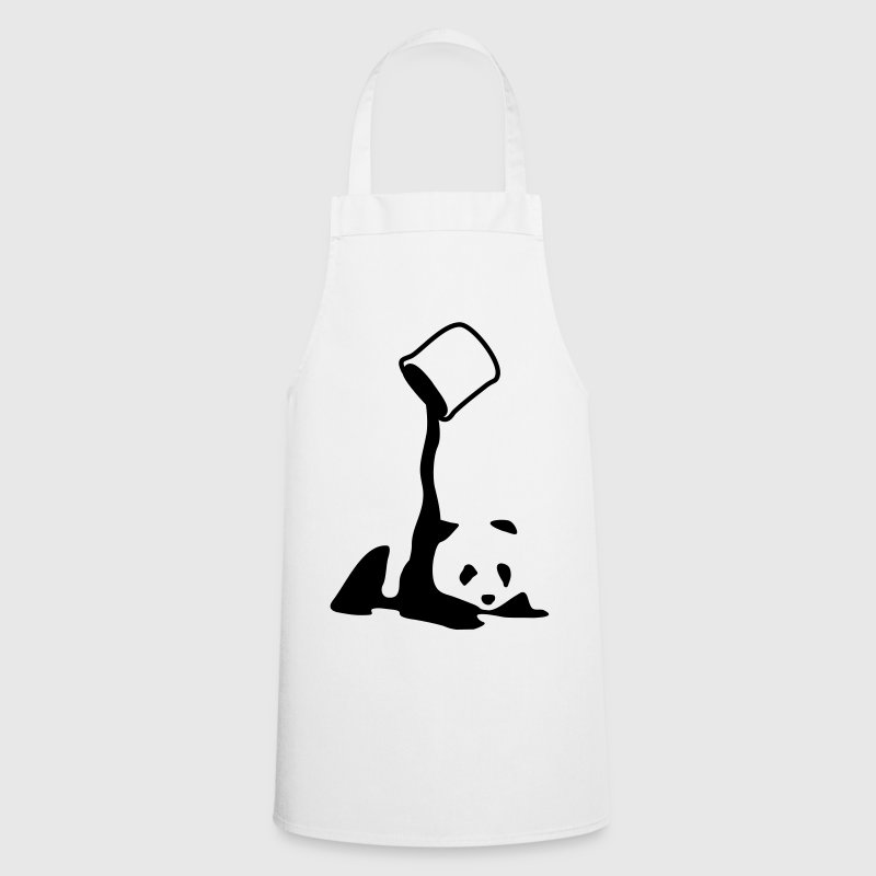 Panda, panda bear art, artist, colour  Aprons - Cooking Apron